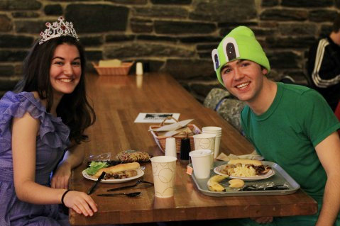 Jeanie N. '12 and Andrew Stromme '12 (Princess and a Toad)By Adam Chuong '12