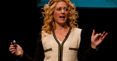 Jane McGonigal spoke on campus as part of the Cooper SeriesPhoto by Abby Star '13
