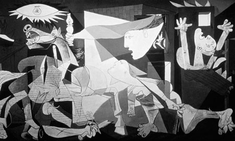 What I Saw Over Winter Break: Picasso Black and White – The Phoenix