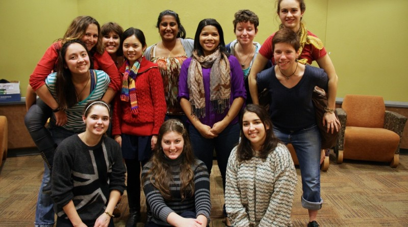 The Women's Rugby Team hosted their annual Tea Parlor Party this weekPhoto by Lauren Mirzakhalili '15