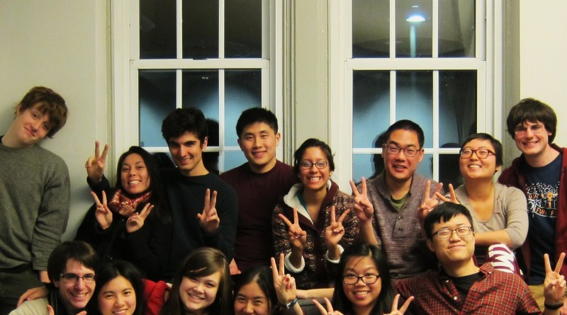 Friends gathered in Wharton Basement to celebrate the Lunar New YearPhoto by Dan Cho '13