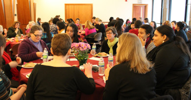 All Campus Women's Luncheon SpringPhoto By Ellen Sanchez-Huerta '13