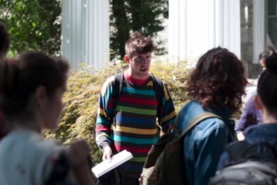 Ben Wolcott speaks with other members of SLAP.
