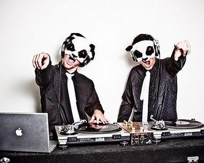 The White Panda, the DJ duo who will headline LSE.