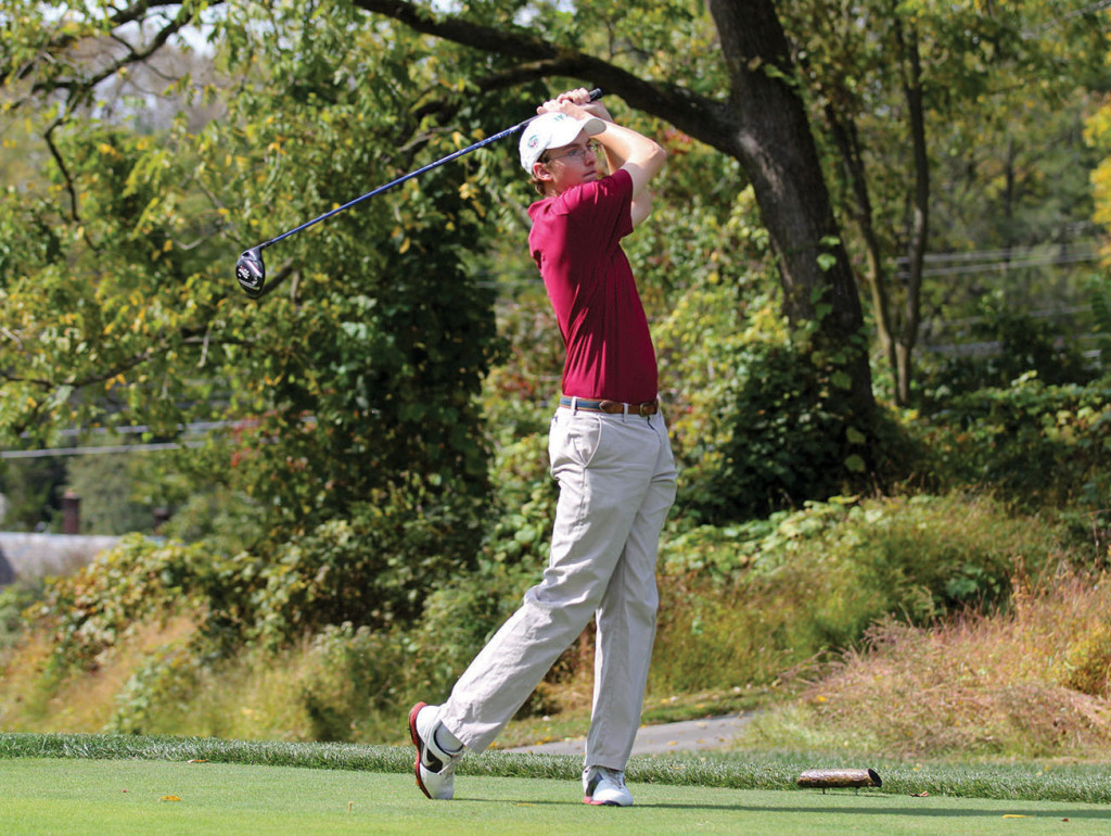 Drew Langan shot an 81 on the par-71 course this week.