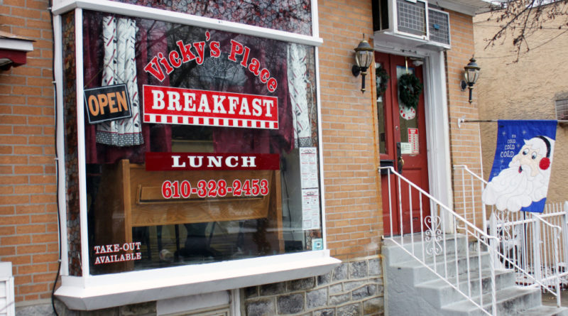 Vicky's Place is a breakfast restaurant in the Ville.
