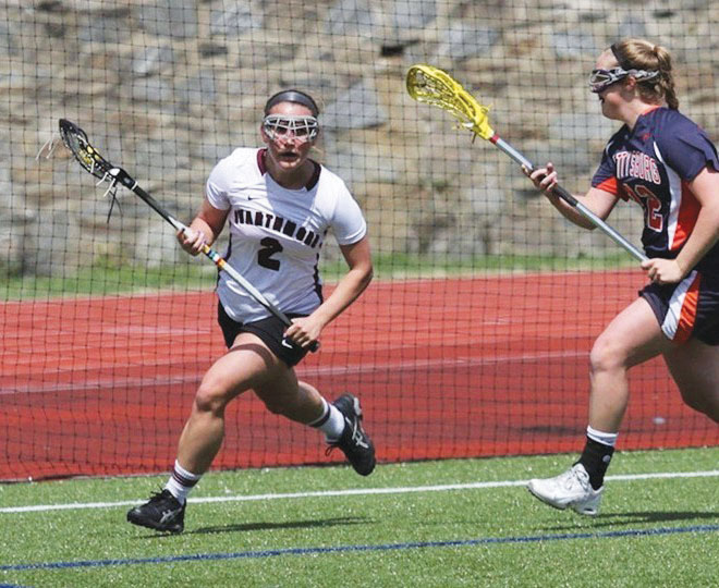Senior co-captain Sam Reichard and the women's lacrosse team scored 19 goals in their first win.