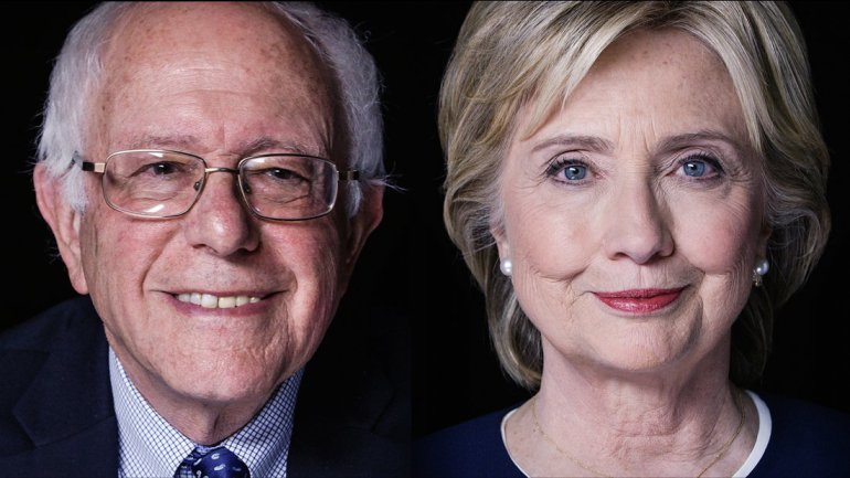 Image result for hillary with Bernie vp