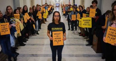 Six Swatties Arrested in Capitol Climate Change Protest
