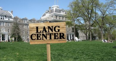 "$100 Million Donated on Condition That Every Building Be Renamed ""Lang"""